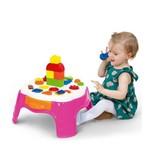 Mesa de Atividades Play Time com Gaveta Cotiplás