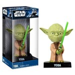 Mestre Yoda - Bobble Head Star Wars - Funko Wacky Wobbler