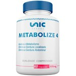 Metabolize 4 500mg 60 Cáps Unicpharma