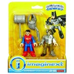 Metallo e Superman Figura Imaginext - Mattel DFX91
