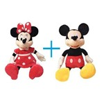 Mickey e Minnie Pelucia