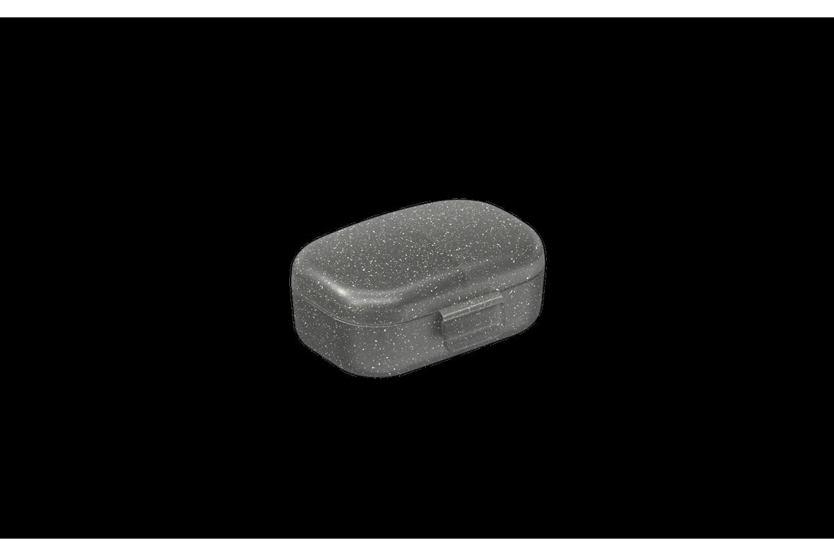 Micro Necessária 10,7 X 6,7 X 2 Cm Fumê Glitter Coza