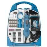 Micro Retifica Multiuso 252 Peças 130W G19502 Gamma +maleta G19502BR2