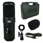 Microfone Arcano Condensador USB Ar-u200 Sb