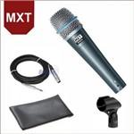 Microfone com Fio Profissional Pro Btm-57a