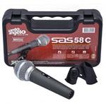 Microfone Dinâmico Cardioide Uni-direcional Santo Angelo Sa