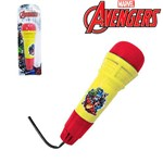 Microfone Infantil com Eco Divertido Vingadores Avengers na Cartela