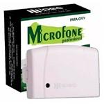 Microfone Ipec Amplificado para Cftv Dvr Profissional