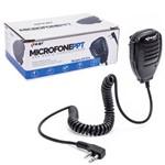 Microfone para Rádio Comunicador Ht Baofeng Kenwood 2 Pinos Knup Kp-914