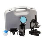 Microscópio com Ampliação 300x, 600x e 1200x