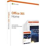 Microsoft Office 365 Home - 2019: 6 Licenças 'PC, Mac, Android e IOS' + 1 TB de HD Virtual para Cada Licença