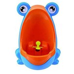 Mictório Infantil Sapinho Azul - Clingo