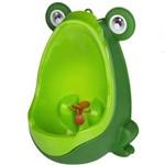 Mictório Infantil Sapinho Verde de Parede para Meninos