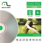 Midia DVD-Rw Vel. 04x - Envelope Impresso
