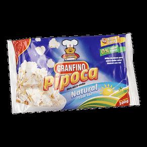 Milho de Pipoca para Micro-ondas Granfino Natural Sal 100g