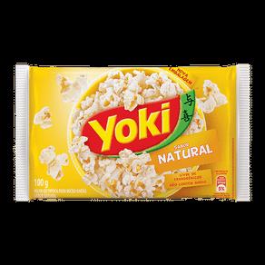 Milho de Pipoca para Micro-ondas Yoki Natural 100g