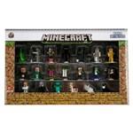 Minecraft - Nano Metalfigs Kit com 20 Miniaturas - Jada Toys