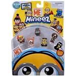 Mineez Minions Cartela com 6 Personagens - Dtc
