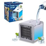 Mini Ar Condicionado Portátil Arctic Air Cooler Umidificador Climatizador Luz Led