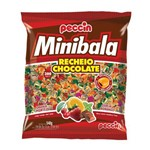 Mini Bala Chocolate C/300 - Peccin