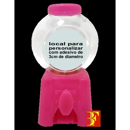 Mini Baleiro Pink - Unidade