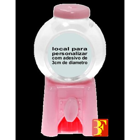 Mini Baleiro Rosa - Unidade