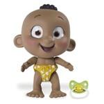 Mini Boneca Interativa - Tiny Tots - Menino Moreninho