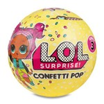 Mini Boneca Surpresa Confetti Pop