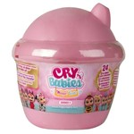 Mini Boneca Surpresa Cry Babies Magic Tears Rosa - Multikids