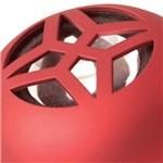 Mini Caixa de Som Portátil 2w Vermelho - Maxprint