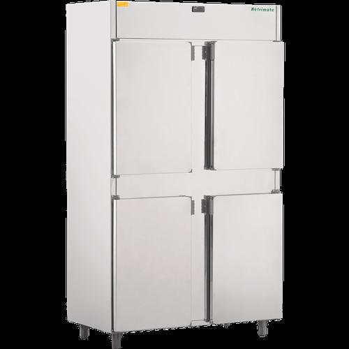 Mini Câmara Fria Comercial Refrimate, 800 Litros, 4 Portas, Inox - MC4PP - 220V