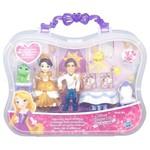 Mini Conjunto Princesas Disney Rapunzel e Flynn Rider Hasbro