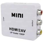 Mini Conversor de Hdmi para Av Hd 1080p