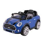Mini Cooper Azul Elétrico Veículo C. Remoto Belfix - 926600