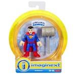 Mini Figura Imaginext - Liga da Justiça - Superman - Dpf00 - Mattel