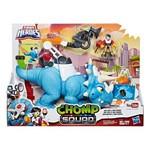 Mini Figuras - Playskool Heroes - Chomp Squad - Dout Tops - Hasbro