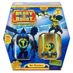 Mini Figuras - Ready 2 Robot - Bot Blaster - Verde e Preto - Candide