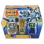 Mini Figuras Sortidas - Ready 2 Robot - Conjunto de Batalha - Azul - Candide