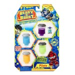 Mini Figuras Sortidas - Ready 2 Robot - Pilots - Azul - Candide