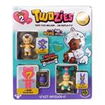 Mini Figuras Twozies - Friends Pack com 6 Figuras - Série 2 - Dtc
