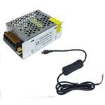 Mini Fonte Chaveada Raspberry Pi3 -5v5a -85x59x38mm e Cabo