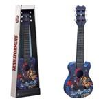 Mini Guitarra Infantil Transformers com Corda e Palheta