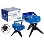 Mini Laser Projetor Holografico Tripe Lua Tek - Lk173a