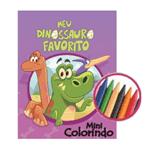 Mini Livrinho para Colorir