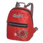 Mini Mochila Coca Cola Vintage Rose