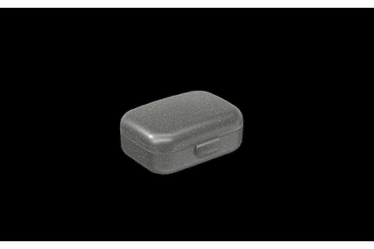 Mini Necessária 10,8 X 8,2 X 4,4 Cm Fumê Glitter Coza