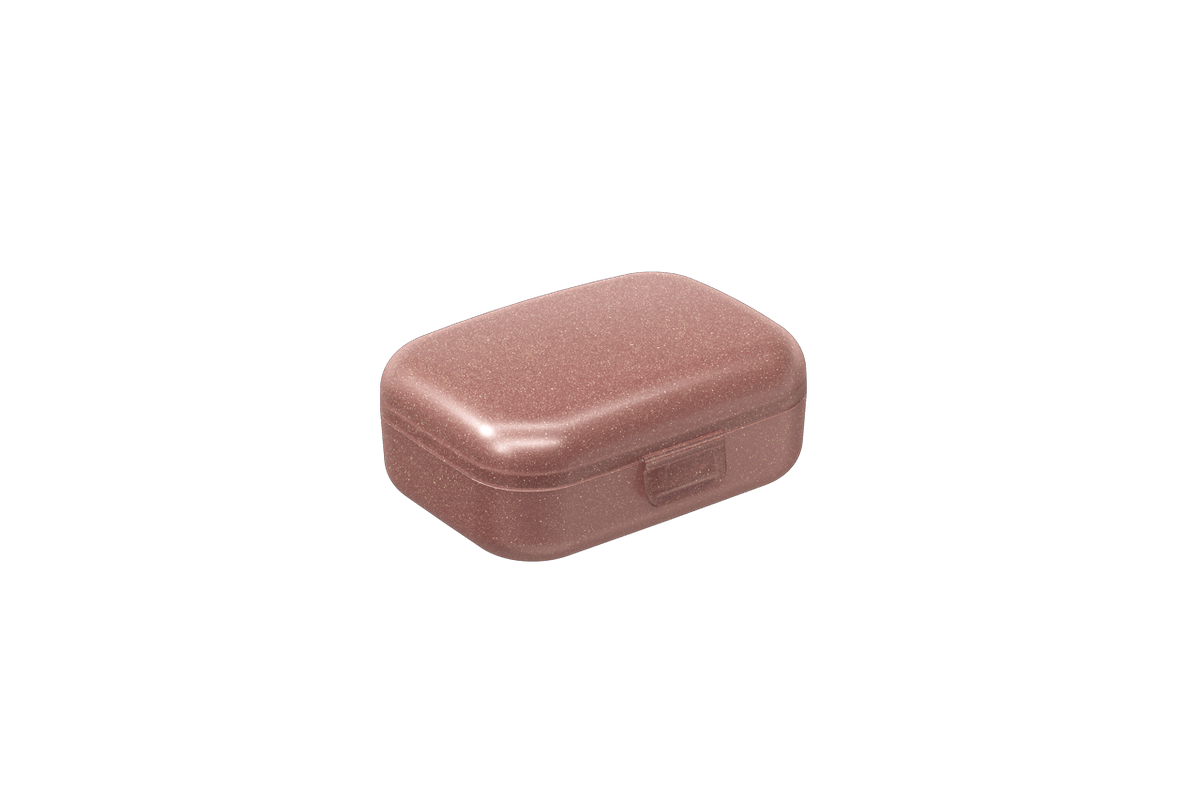 Mini Necessária 10,8 X 8,2 X 4,4 Cm Rosa Glitter Coza