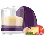 Mini Processador Easy CUT Roxo Violeta Mpr512 - Elétrico Cadence Colors - Picador Triturador de Alimentos