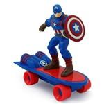 Mini Skate de Fricção - Avengers - Capitão America - Toyng
