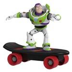 Mini Skate Radical de Fricção com Mini Figura - Disney - Pixar - Toy Story - Buzzlightear - Toyng
